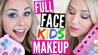 Full Face Makeup Using Only Kids Makeup Challenge by Eleventhgorgeous
