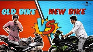 Video New bike vs Old bike - the reality MP3, 3GP, MP4, WEBM, AVI, FLV Maret 2018