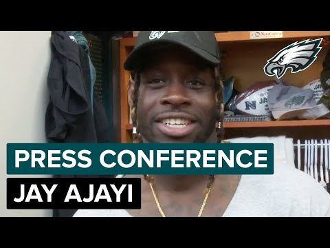 Jay Ajayi Wants Another Super Bowl Win | Eagles Press Conference (видео)