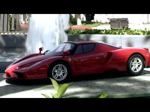 Ferrari Enzo RC Race Car (Watch In Higher Quality)