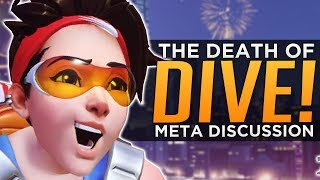 We've already gone over how well Doomfist plays against Dive Comp in our previous meta discussion, and although there were nerfs to his kit since then it does little to change that stance, in fact, it's even more obvious that he'll struggle to dive with his mobility reigned in. However, yesterday was the big PTR patch that buffed a handful of non-dive meta heroes that have been struggling to compete in Overwatch Gameplay , which would indicate that Blizzard is well aware of how strong dive is and is responding. In this video FREEDO sums up the totality and the implication of each PTR Patch item in detail, but the conclusion might not be as clean as you'd might like. We've never had two comps be equally top at the same time, but perhaps the way Overwatch is structured we are forever doomed (no pun intended) for that to be the case. With no limitations of hero selections and few game mode types (they're all single objective, team fight focused) it's difficult to foresee a time when a hero or an entire team comp would be deemed viable as the item that's merely 1% better will always be favored. Still, change is coming and that at least will keep many fans interested in the short term, but unfortunately instead of a multi-comp meta, we're likely to fall into a battle to the death between a new revamped Death ball with Doomfist to stabalize it, or a revamped Dive Comp that can disable Doomfist's anti-dive power. Only time will tell, but at the very least, change is coming. If you enjoyed the video, please leave a like! Subscribe here - http://bit.ly/2aN1OuOWe are YOUR OVERWATCH:Destiny Channel: https://www.youtube.com/channel/UCb4Jomiox07xosU843EYTiwPatreon - https://www.patreon.com/YourOverwatchTwitter - https://twitter.com/youroverwatchytTwitch - https://www.twitch.tv/youroverwatch Discord Server:https://discordapp.com/invite/youroverwatchFREEDO's personal channel for Overwatch esports talk and more!https://www.youtube.com/user/xfreeedo