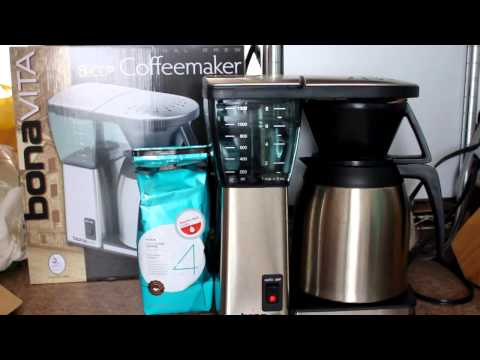 Bonavita BV1800TH 8-Cup Coffee Maker with Thermal Carafe Review