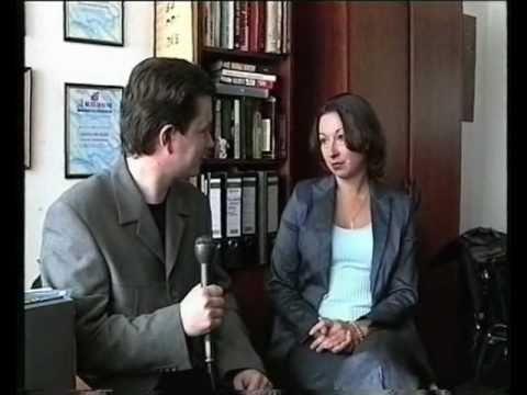 Интервью И. Жукова с телезвездами в Останкино