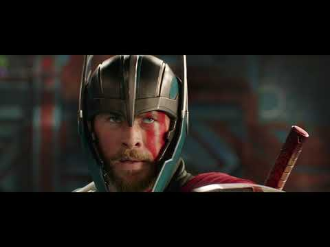 Thor Ragnarok: Thor and Hulk Main Event Fight Scene