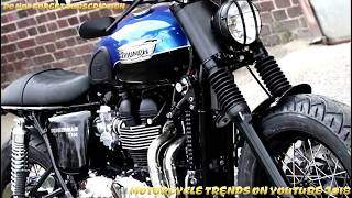 9. New 2017-2018 Triumph Bonneville T100 New Reviews (eps1)