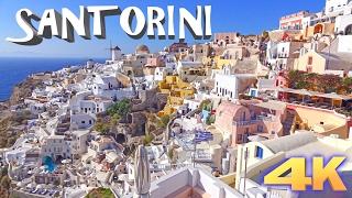 Santorini Greece  city images : Santorini - Greece 4K