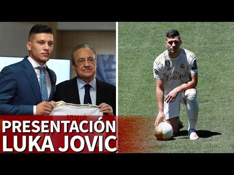 Presentación de JOVIC como jugado del REAL MADRID en DIRECTO desde el BERNABÉU  Diario AS