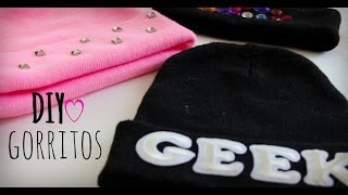 DIY: Decora tus gorritos - YouTube
