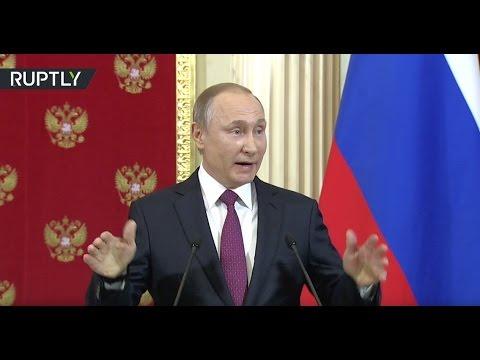 Putin mocks Trump's 'prostitute scandal' allegations