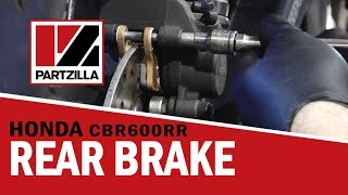 10. How to Change Rear Brake Pads on a Honda CBR 600RR | Partzilla.com
