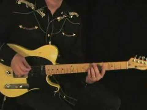 Advanced Country Guitar Lesson Speed Anchored Hammer On