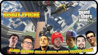 GTA 5 : IL VIDEO PIU' EPICO DI SEMPRE ! w/Mates,CiccioGamer89,Klaus