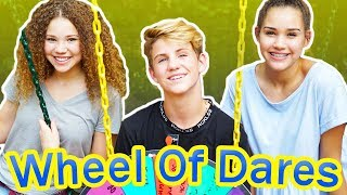 Video Wheel of Dares! (MattyBRaps vs Gracie & Madison Haschak) MP3, 3GP, MP4, WEBM, AVI, FLV Agustus 2018