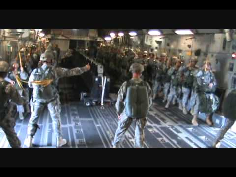 82nd Airborne jump C-17 Hollywood