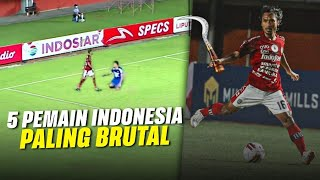 Video EMOSI...!! 5 PEMAIN INDONESIA PALING BRUTAL DAN TEMPRAMEN MP3, 3GP, MP4, WEBM, AVI, FLV Oktober 2018