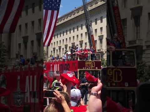 Washington Capitals Parade