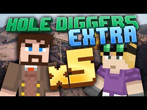 Minecraft – Five Times Processing – Hole Diggers Extra 5