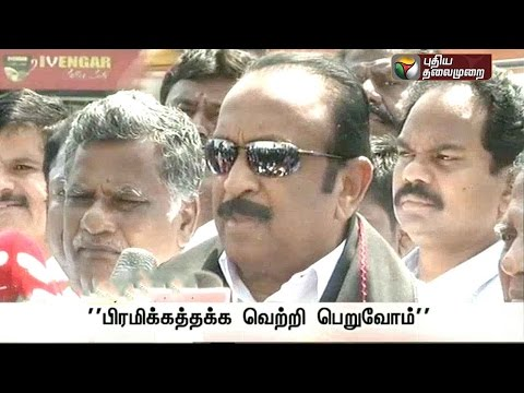 Vaiko-addressing-reporters-after-leaders-of-the-PWFs-met-DMDK-leader-Vijayakanth