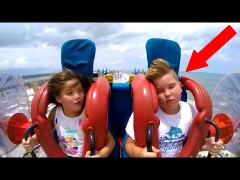 Kids Passing Out #4 | Funny Slingshot Ride Compilation