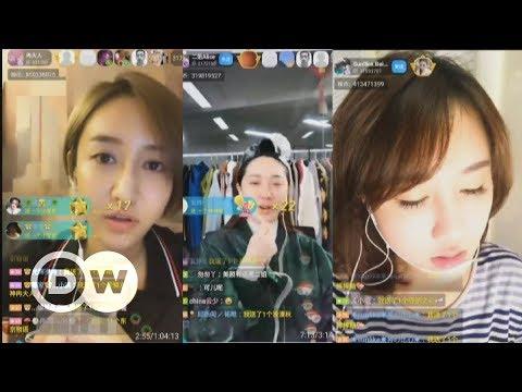 Live-Streaming boomt in China | DW Deutsch