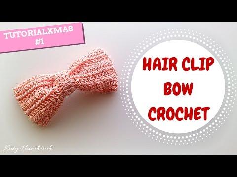 uncinetto - come realizzare un fermaglio per capelli