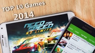 Top 10 Best Android Games 2014 HD High Graphics