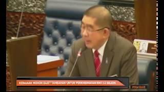 Kerajaan mohon bajet tambahan untuk perkhidmatan RM7.12 bilion