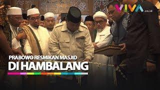 Video Masa Tenang, Prabowo Resmikan Masjid di Hambalang MP3, 3GP, MP4, WEBM, AVI, FLV April 2019