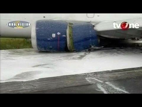 Παραλίγο αεροπορική τραγωδία στην Ινδονησία