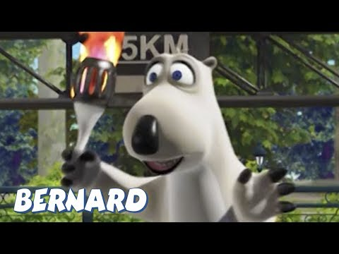 Bernard Bear | The Olympic Torch AND MORE | 30 min Compilation | Cartoons for Children