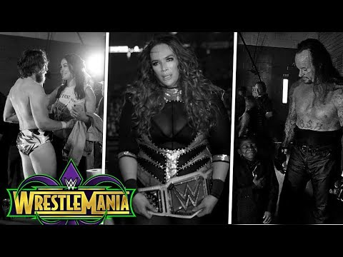 20 Fotos Emotivas En El Backstage De Wrestlemania 34