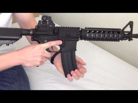Airsoft Colt M4 Cqb Review/ Test Fire