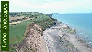 Glen Mooar - Coastal Erosion 2017 - Isle of Man by Drone.