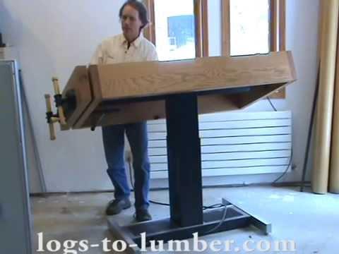 Adjustable Height Workbench
