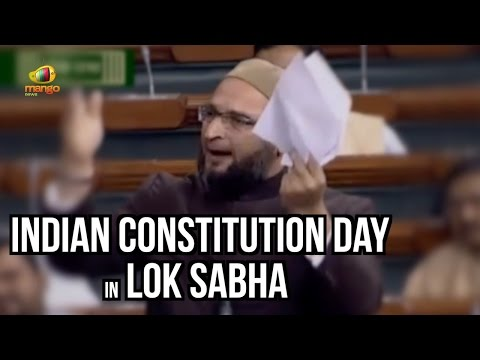 Video Asaduddin Owaisi Speech On Indian Constitution Day In Lok Sabha | Parliament Winter Session download in MP3, 3GP, MP4, WEBM, AVI, FLV January 2017