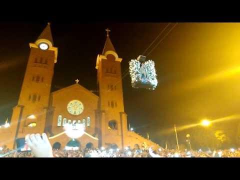 Subida da imagem de Nossa Senhora da Abadia em Romaria 15/08/2016