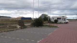 Olmedo Spain  City pictures : Motorhome Aire in Olmedo, Valladolid, Spain