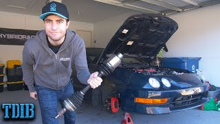 My K20a Integra Broke in the Stupidest Way by That Dude in Blue
