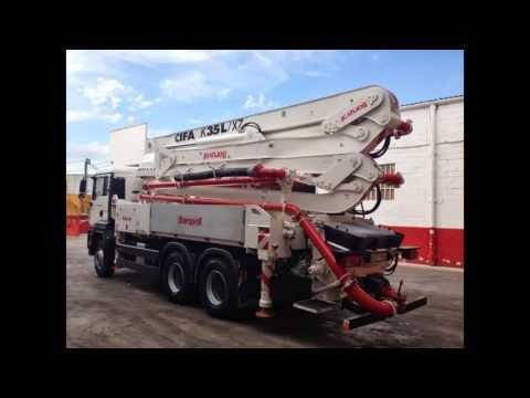 Concrete Pump Cifa K35L/XZ