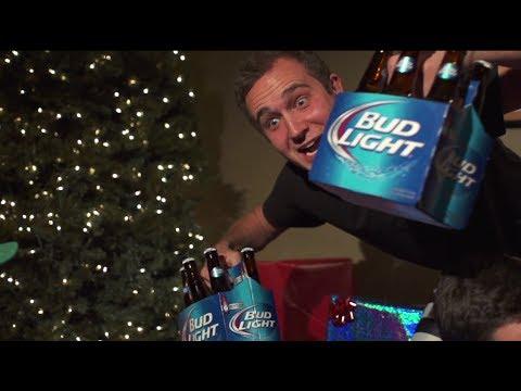 Bud Light Christmas Commercial