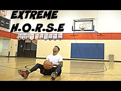 EXTREME HORSE CHALLENGE!! IRL BASKETBALL 1V1 | Loser gets PUNISHED!