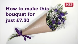 If you're buying flowers for Mother's Day, you don't have to pay a blooming fortune. See how to spruce up a £4 supermarket bunch for just £3.50 extra. More Mother's Day deals: mse.me/mothersday
