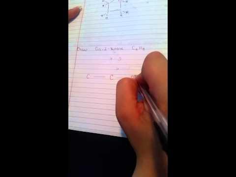 Draw Cis-2-Butene