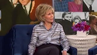 Jane Fonda Snaps at Megyn Kelly for Plastic Surgery Questions -- Watch!