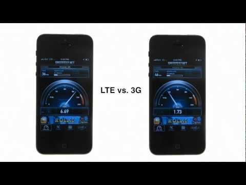 0 3G vs 4G LTE   Comparación en la velocidad de conexión con un iPhone 5