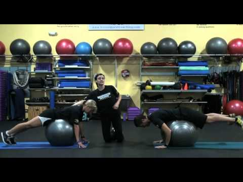 Ball Reverse Hyperextension