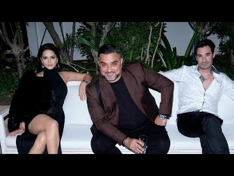 Sunny leone celebrate new year 2018 full video