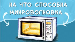 Crazy Russians Experiment With A Half-Disassembled Microwave Oven