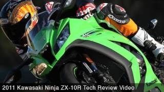 3. 2011 Kawasaki Ninja ZX-10R Tech Review - MotoUSA