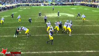Shilique Calhoun vs Michigan (2013)